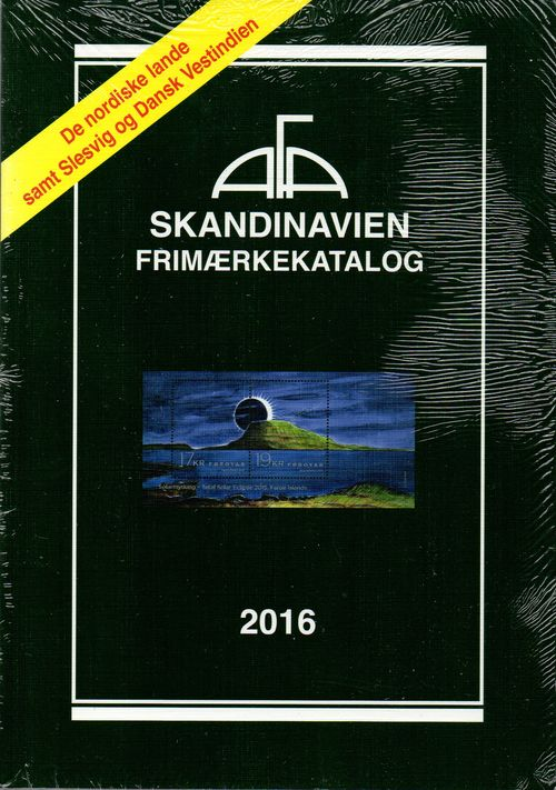 AFA Scandinavia 2016 Stamp Catalogue