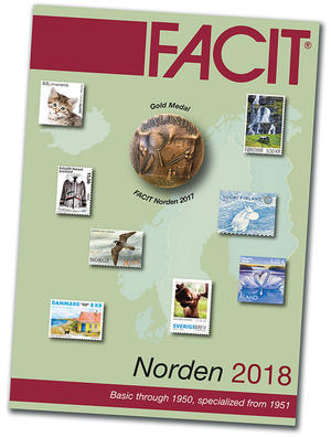 Facit 2018 Norden Stamp Catalogue