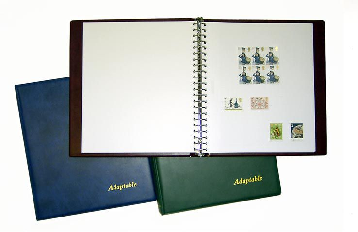 Adaptable Stamp Album