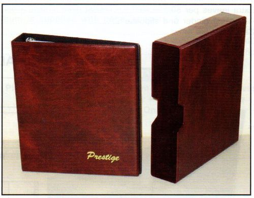 Prestige Stamp Album Without Slip Case