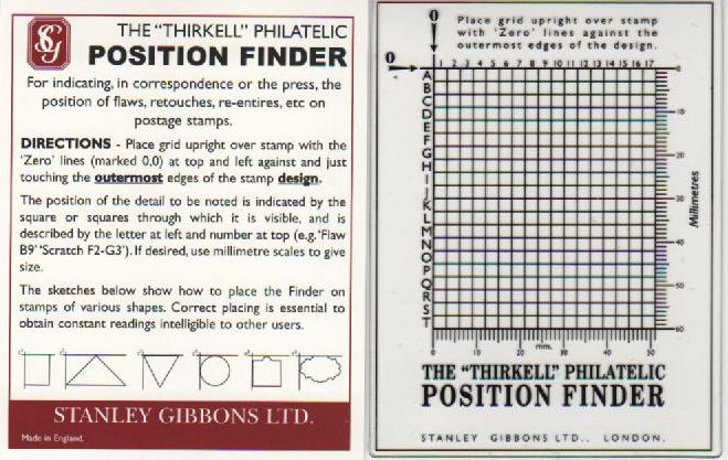'Thirkell' Position Finder