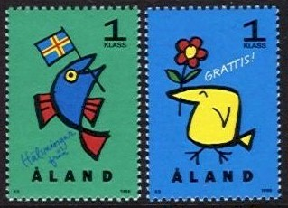 1996 Greetings Stamps