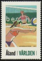 2011 Personalised Stamps - Beach Volleyball