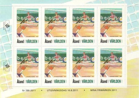 2011 Personalised Stamps (M/S)