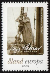 2015 Personalised Stamps - Aland Women