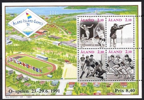1991 Island Games M/S