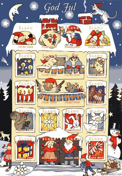 1999 Christmas Seals Sheet