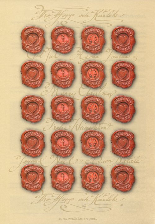 2006 Christmas Seals Sheet