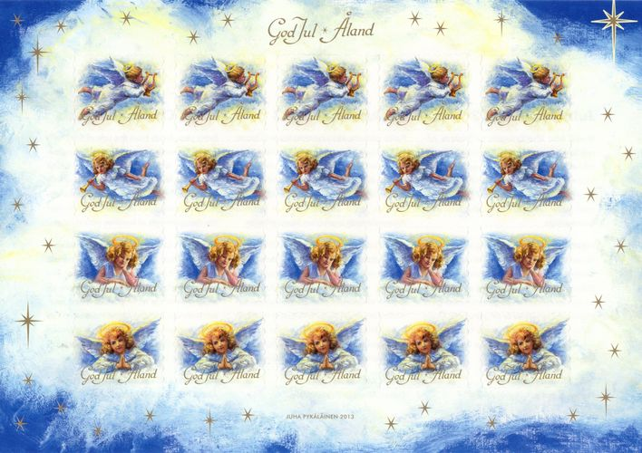 2013 Christmas Seals Sheet