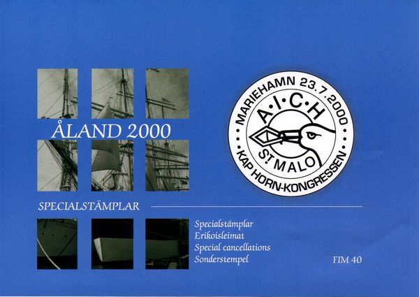 2000 Aland Islands Special Cancellations Set (8)