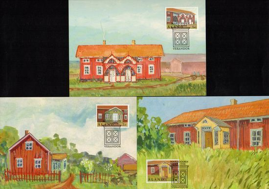 1998 Traditional Porches PHQ Card Set