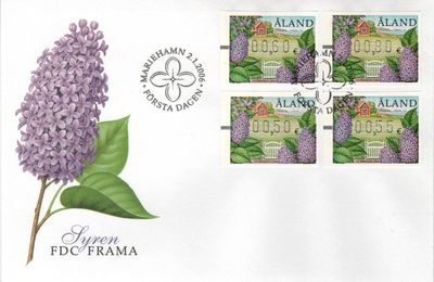 2006 Machine Labels FDC