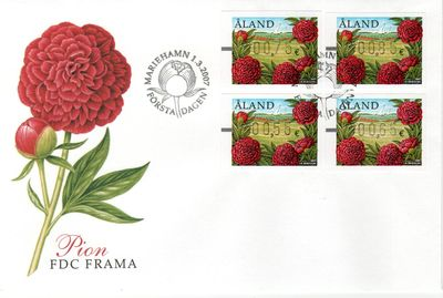 2007 Machine Labels FDC