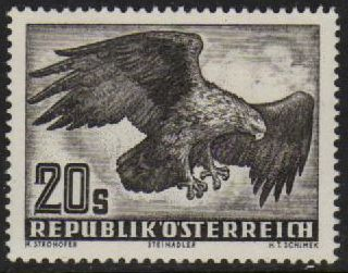1952 Airmail - Golden Eagle