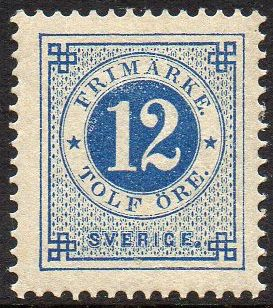 1877 to 1879 Circle Type Perf 13
