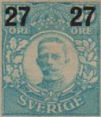 1917/18 Surcharged Stamps