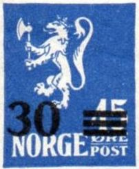 1927-28 Surcharged Stamps