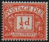 1959 - 63 Postage Dues
