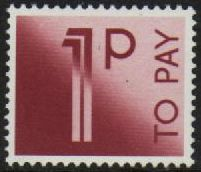 1982 Postage Dues