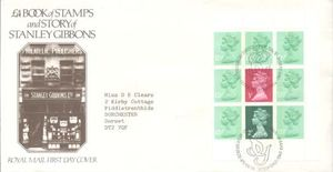 Booklet Pane FDC's