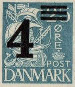 1934 Surcharged Stamps