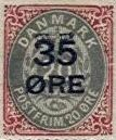 Denmark Surcharged Stamps