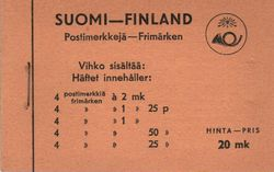 Finland Stamp Booklets