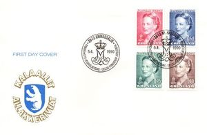 1990/6 Queen Margrethe Type IV
