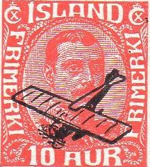 Iceland Airmail Stamps