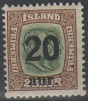 1921 - 30 Locally Surcharged