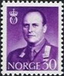 1958 to 1962 King Olav V