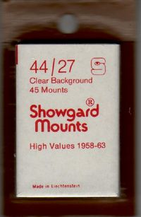 'Showgard' Mounts (Clear)