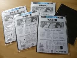 Vario Black Stock Sheets