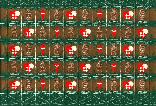 1956 Christmas Seals (Sheet)