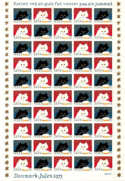 1973 Christmas Seals (Sheet)