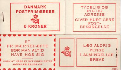 1967 Numeral & Frederik IX Definitives