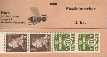 1969/70 Numeral & King Frederik IX Definitives