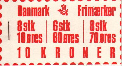 1972 Numeral & Frederik IX Definitives