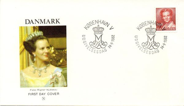 1982 Queen Margrethe 1.60 Kr.