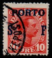 1921 Postage Due - Military Overprint (F/U)