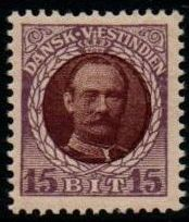 1907 - 08 15b Brown and Violet (M/M)