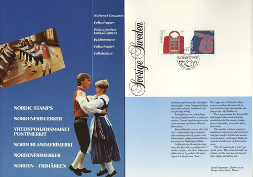 1989 NORDEN - National Costumes