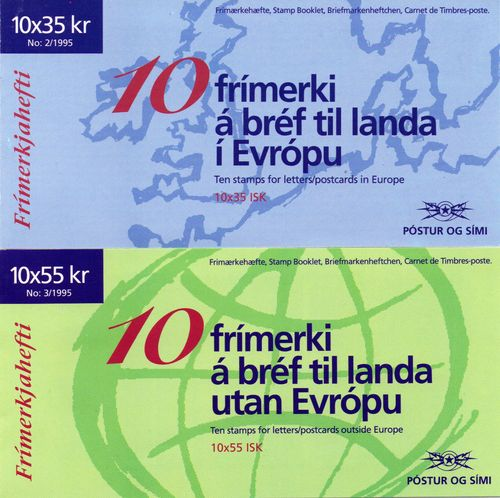 1995 Iceland (Booklets)