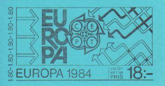 1984 Sweden (Booklet)