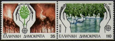 1986 Greece ex Booklet