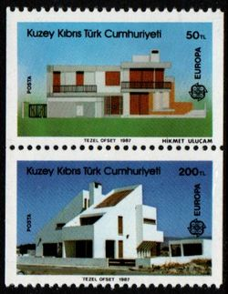 1987 Turkish Cyprus (Ex Booklet)