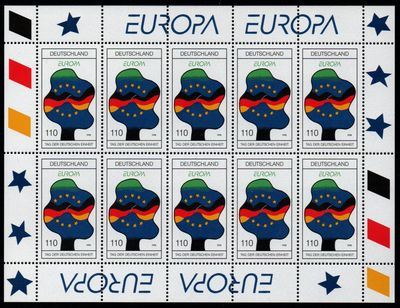 1998 Germany (Sheet)