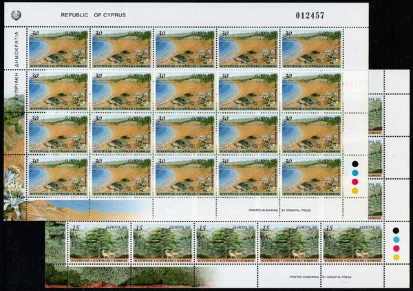 1999 Cyprus (Sheets)