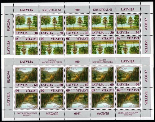 1999 Latvia (Sheets)