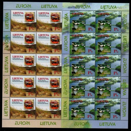 1999 Lithuania (Sheets)